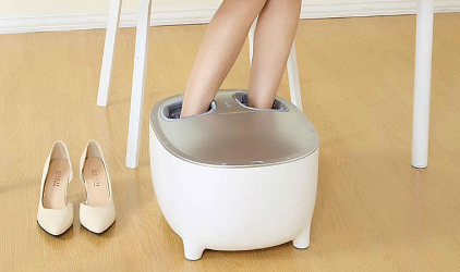 Новый массажер ног Xiaomi Momoda Small Stool Foot Massager